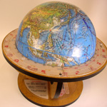 Expanding Earth Knowledge Globe Stand