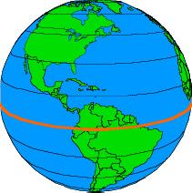 Charming Latitude Lines Equator GC